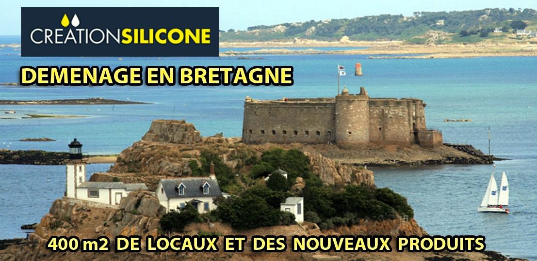 Démenagement Création Silicone en Bretagne